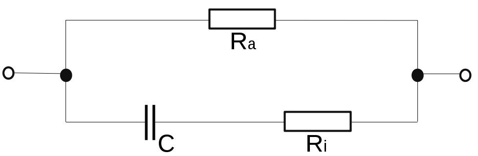 Ersatzschaltbild eines realen Kondensators
